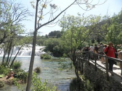 Rijeka Krka, snimila . J. Klisović