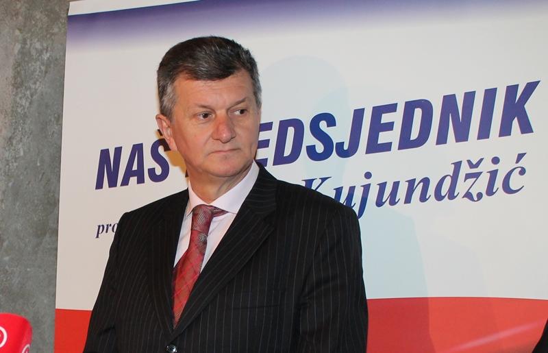 Milan Kujundžić u Šibeniku 2014. kao predsjednički kandidat  (Foto: Tris/H. Pavić)
