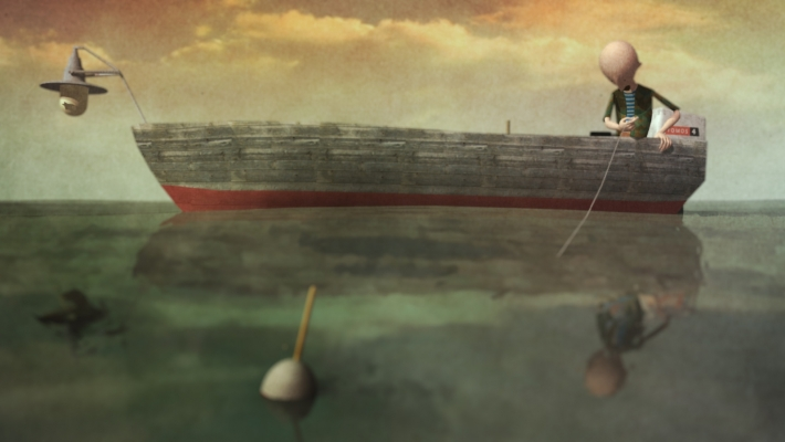 Iz filma Finili su Mare bali Natak Stipaničeva (izvor HAVC)
