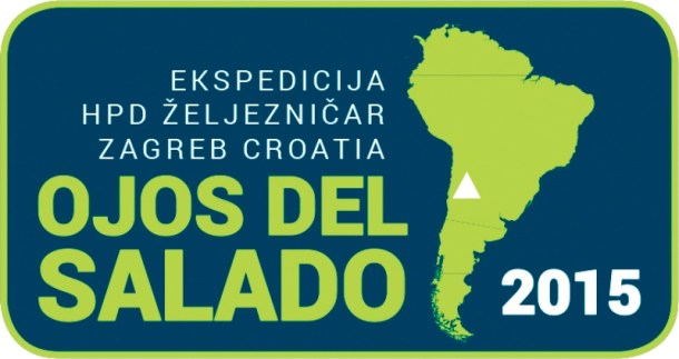 Znak ekspedicije Ojos del Salado