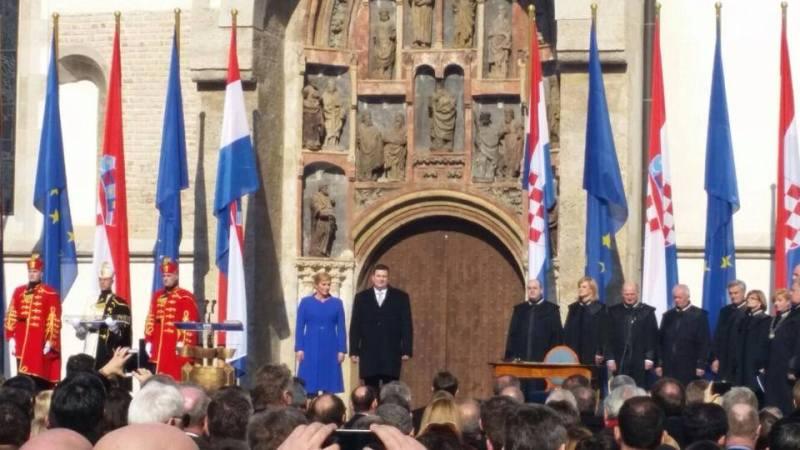 Svečana inauguracija: 'Jedna sam od vas i dat ću sve od sebe da Hrvatsku učinimo bogatom'