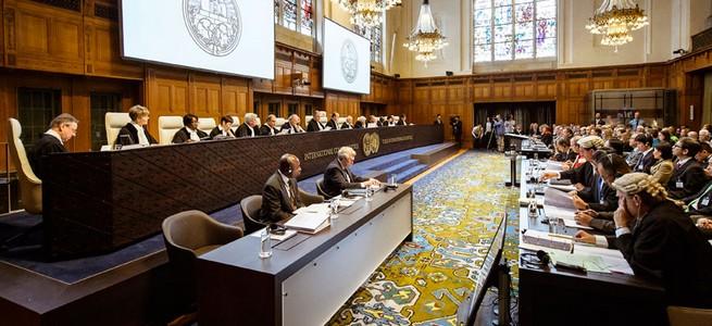 Donošenje presude u Hagu (Foto: HRT)
