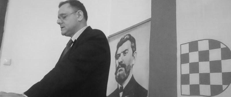 """Portret tjedna/Dražen Keleminec, predsjednik A-HSP-a:  """"Domoljubno"""" paradiranje ustaštva"""