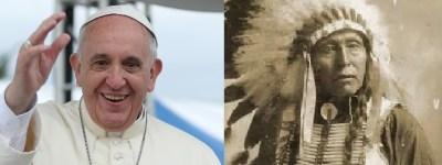 """""""Zeleni"""" papa Franjo kao indijanski poglavica Seattle: Obojica su protiv bušenja Jadrana?"""