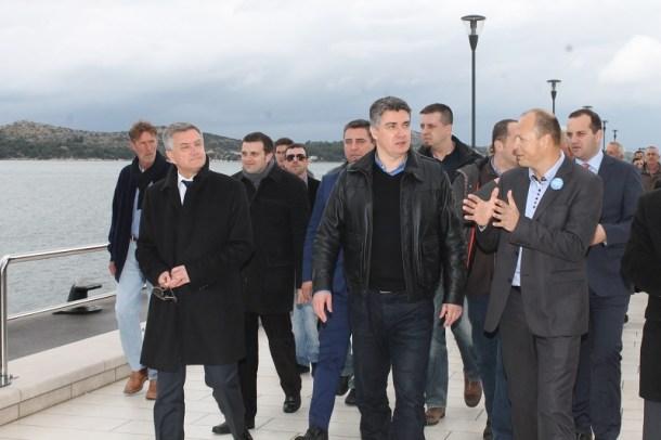 Premijer Zoran Milanović u Šibeniku (Foto H. Pavić) (5)