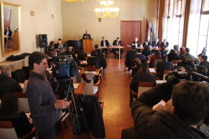 Današnje zasjedanje Županijske skupštine (Foto: Tris/H. Pavić)