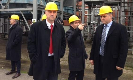 Ministar Vrdoljak s kacigom, prošle zime (foto Ministarstvo gospodarstva)