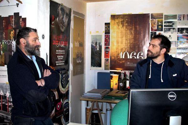 Saša Kralj u razgovoru s novinarom TRIS-a (Foto: Ante Filipović Grčić)
