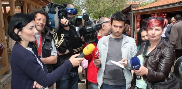 Mediji - novinari u akciji (Foto H. Pavić)