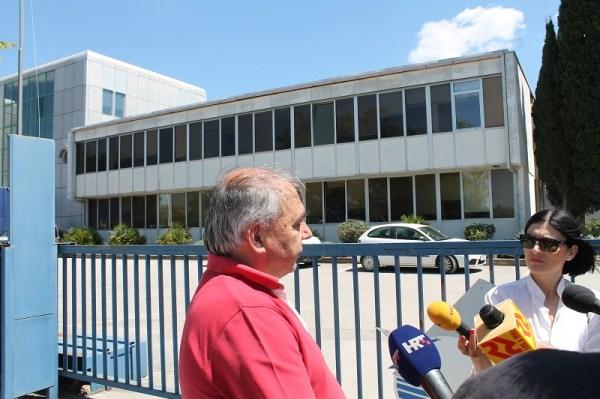 Predsjednik Hrvatskog sindikata metalaca (Foto: H. Pavić)
