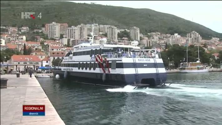 Krilo pristaje u Dubrovnik (foto printscreen HTV)