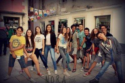 Polaznici novinarske radionice Nora na šibenskom MDF-u (Foto: Franka Štrkalj)