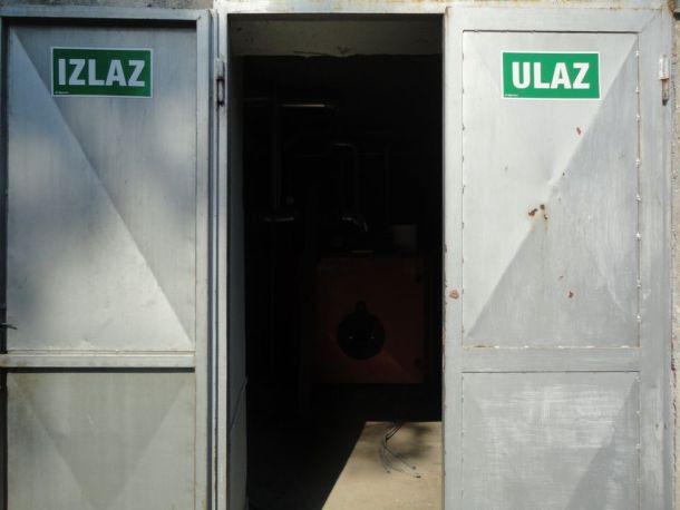 Detalj iz Muzila: ulaz je gdje je izlaz - foto TRIS/GŠ