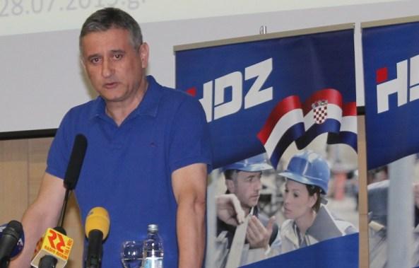 Predsjednik HDZ-a Tomislav Karamarko (Foto: Tris/H. Pavić)