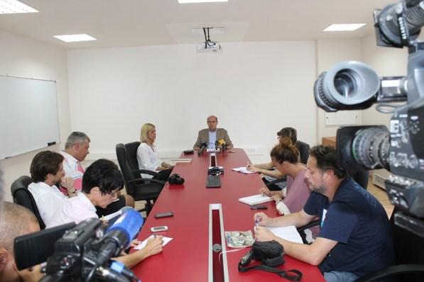 Konferencija za novinare (Foto: Tris/H. Pavić)