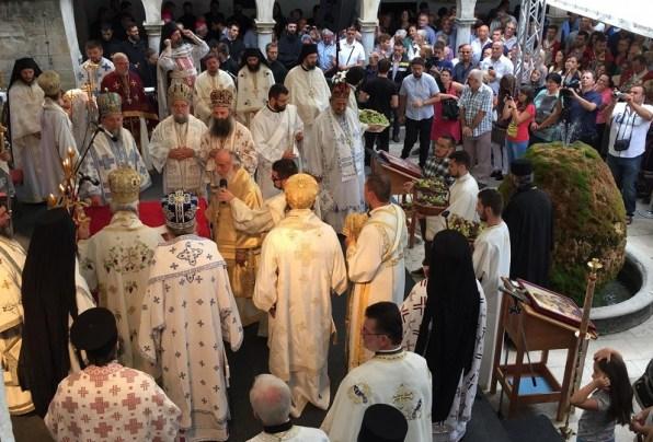 'Svedalmatinski sabor u manastiru Krki' (Foto: SPC)