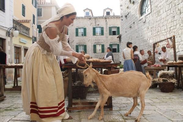 Najljepša Hrvatica i najljepša koza (Foto: tris/H. Pavić)