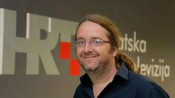 Dean Šoša, urednik HRT3 (foto: HRT)