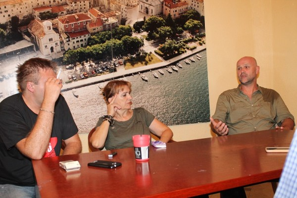 Emir Imamović Pirke, Davorka Blažević i Saša Leković (Foto: Tris/H. Pavić)