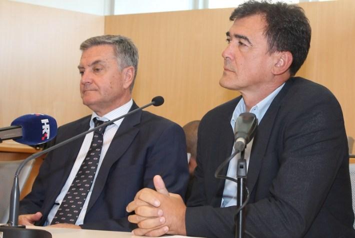 Goran Radman na tribini u Šibeniku (Foto H. Pavić)  (4)