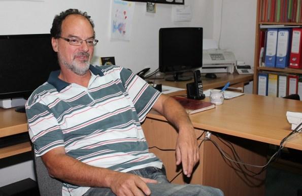Tajnik Udruge slijepih Darko Juras radio je do 40. godine života kao tajnik škole na Šubićevcu, ali su ga zbog hendikepa umirovili (Foto: Tris/H. Pavić)