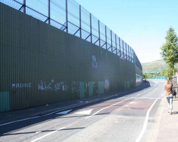 'Linija mira' u Belfastu (Foto: Wikipedia)