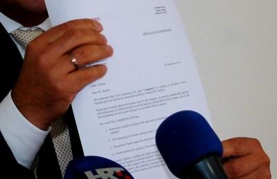 Povjerljivi domunet - pismo namjere 'najveće europske investicijske banke (Foto: H. Pavić)
