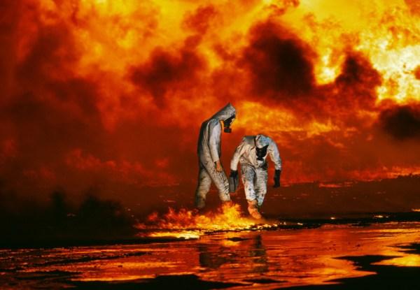 Rksplozije nafte u Kuvajtu nalikuju na uvriježeni zamišljaj o izgledu pakla