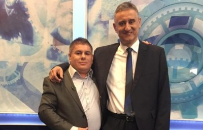 Arhiva: Velimir Bujanec i Tomislav Karamarko - jedan od ranijih susreta pocijeljen na Faceboku (Foto FB)