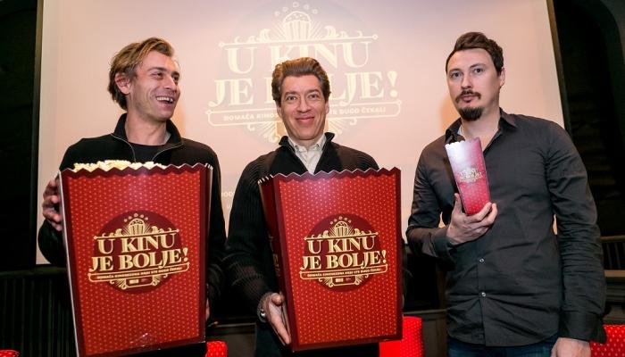 Tri redatelja (foto: Julien Duval/HAVC)