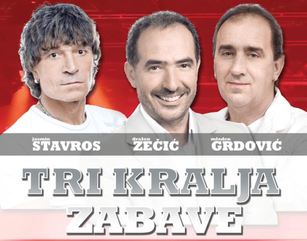 Lisinski poludi… 'Kralj dijaspore' Bulić, pa 'Tri kralja zabave': Stavros, Zečić i Grdović