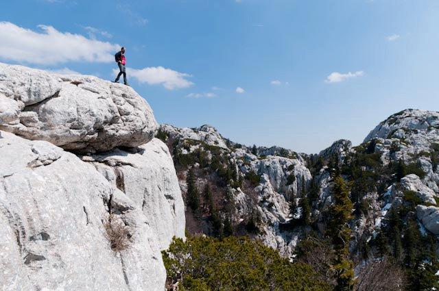 Sjeverni Velebit - na stijeni (bez skakanja)