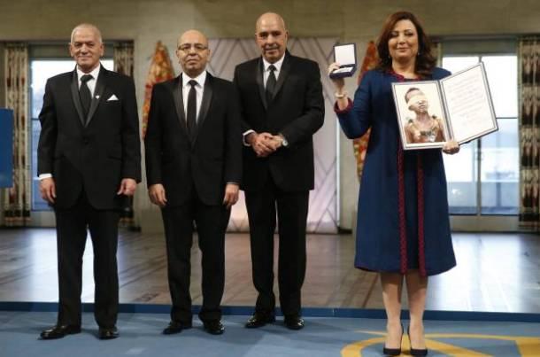 2015 Nobel Peace Prize awarding to Tunisian National Dialogue Quartet