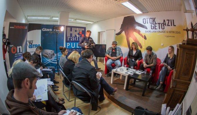 S najavne press konferencije (foto Sa(n)jam knjige)