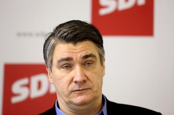 Konferencija za medije predsjednika SDP-a Zorana Milanoviæa