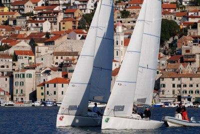 Posada Tonka Rameše u vodstvu nakon prvog dana flotne regate u Šibeniku