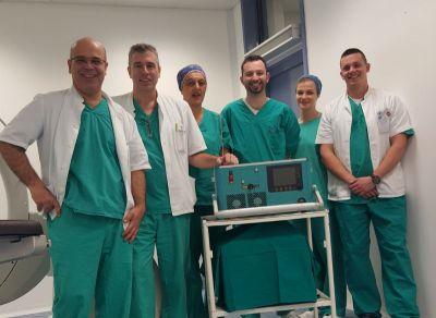 Šibenski bolnički tim koji među prvima u Hrvatskoj izvodi laserske operacije prostate