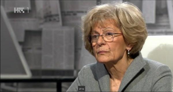 Mirjana Rakić u Nu2 kod Aleksandra Stankovića (Printscreen HRT)