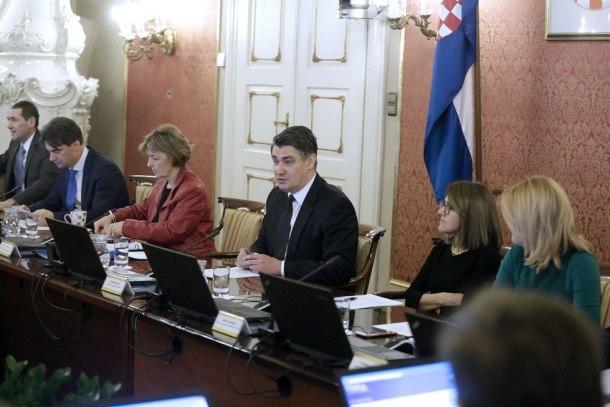 Posljednja sjednica Vlade premijera Zorana Milanoviæa