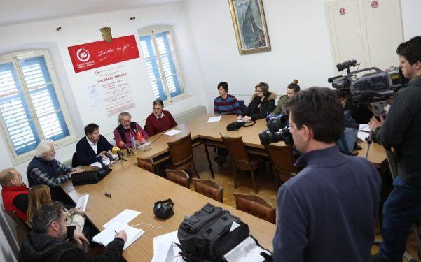 Konferencija za novinare Sindikata metalaca Hrvatske (Foto: Tris/H. Pavić)