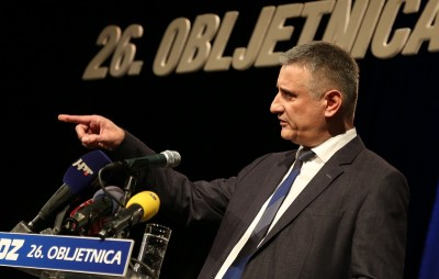Tomislav Karamarko na 26. obljetnici HDZ-a u Šibeniku (Foto H. Pavić)