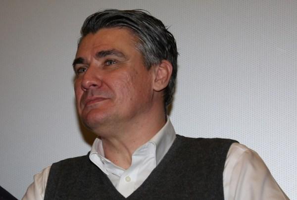 Novi-stari predsjednik SDP-a Zoran Milanović (Foto: Tris/H. Pavić)