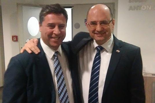 Franko Vidović i Milijan Brkić (Foto HRT)