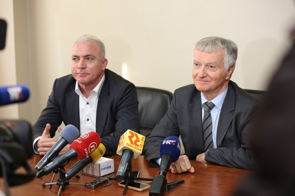 Goran Pauk i Jernej Čokl (Foto Tris H. Pavić)