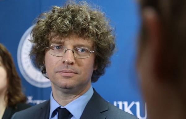 Ministar znanosti, obrazovanja i sporta Predrag Šustar (Foto: Tris/H. Pavić)