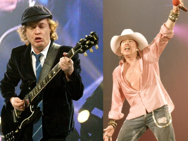 Angus Young i Axl Rose (Wikipedia)