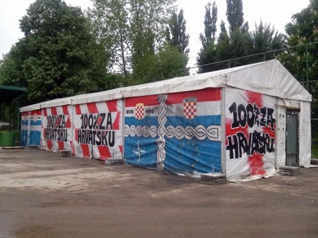Šator iz Savske donesen u Vukovar unatoè protivljenju vukovarski
