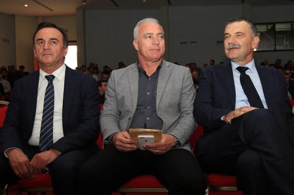 Kandidati: Ante Kulušić, Goran Pauk i Nediljko Dujić (Foto: Tris/H. Pavić)