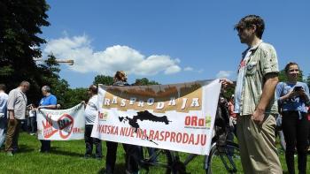 Prosvjed anti Monsanto, GMO, TTIP, Zagreb 21.o5.2016. (foto TRIS/G. Šimac)