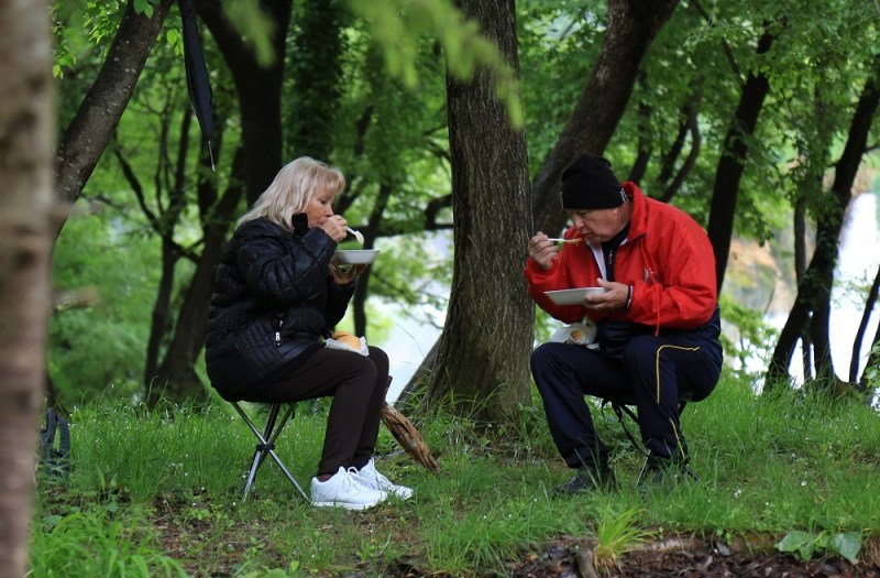 Graha i kobasica - 1. svibnja na Krki